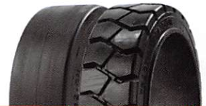 Advance Solid Press-On-Band (Smooth) Tires